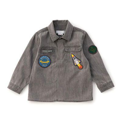 STELLA McCARTNEY(ステラ マッカートニー)ワッペン付きシャツ