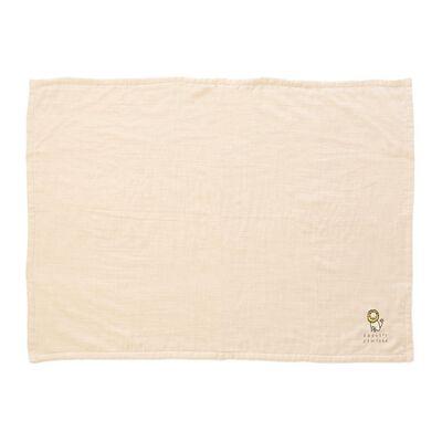 BARNEYS NEW YORK(バーニーズ ニューヨーク)ライオンマシュマロガーゼスロー(70×100サイズ)