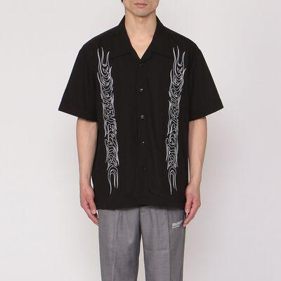 BLACK EYE PATCH(ブラックアイパッチ)エンブロイダリーキューバシャツ