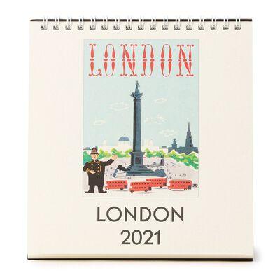 """CAVALLINI(カヴァリーニ)2021年デスクカレンダー """"LONDON"""""""