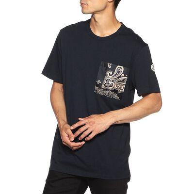 MONCLER(モンクレール)バンダナ柄ポケットTシャツ