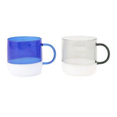 AMABRO(アマブロ)マグカップセット (ブルー&グレー)