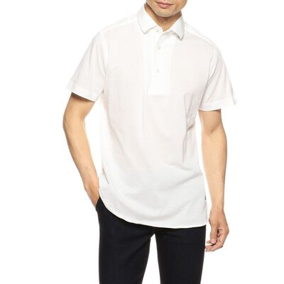GUY ROVER(ギローバー)メランジ鹿の子ポロシャツ