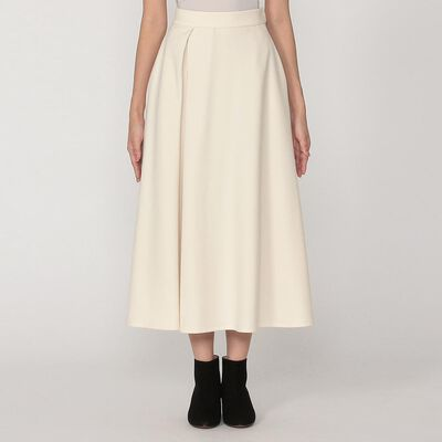 BARNEYS NEW YORK(バーニーズ ニューヨーク)タックフレアロングスカート