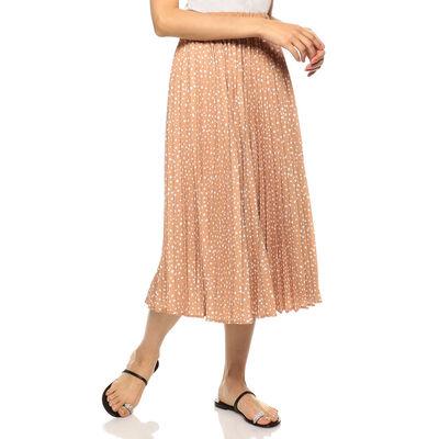 BARNEYS NEW YORK(バーニーズ ニューヨーク)ドット柄プリーツスカート