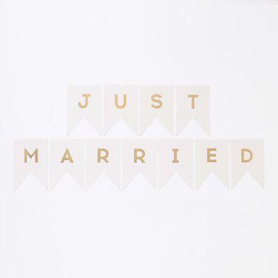 "MY MINDS EYES(マイマインドアイズ)バナー ""Just married"""