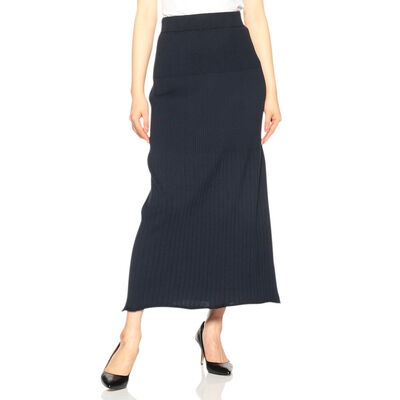 BARNEYS NEW YORK(バーニーズ ニューヨーク)セットアップリブニットスカート