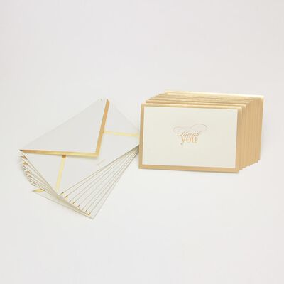 "VERA WANG PAPERS(ヴェラ ウォン ペーパーズ)カードセット ""THANK YOU"""