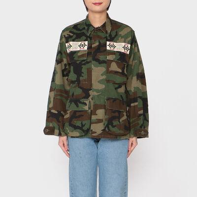 ICONS(アイコンズ)カモフラージュ柄フィールドジャケット