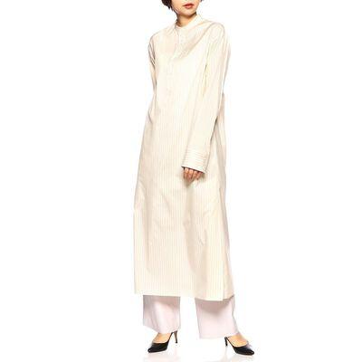 AURALEE(オーラリー)ノーカラーシャツドレス