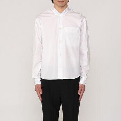 BARNEYS NEW YORK(バーニーズ ニューヨーク)コットンポプリンシャツ