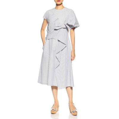 AKIRA NAKA(アキラ ナカ)ストライプシャツドレス