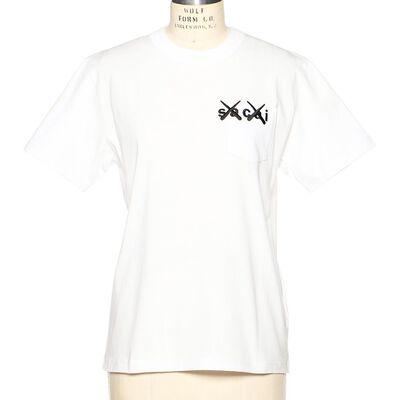 SACAI(サカイ)カウズコラボレートTシャツ