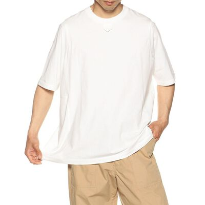 FUMITO GANRYU(フミトガンリュウ)ネックテープTシャツ