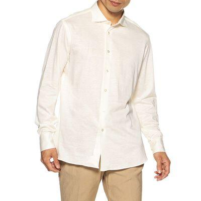 BORRIELLO(ボリエッロ)リネンコットンジャージーシャツ