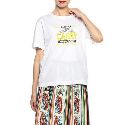 MUVEIL WORK(ミュベール ワーク)プリントTシャツ
