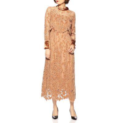 MASACO TERANISHI(マサコ テラニシ)モールラッセルドレス