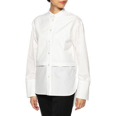 CINOH(チノ)スタンドカラーシャツ
