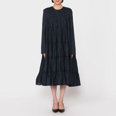 MERLETTE(マーレット)Aラインティアードドレス