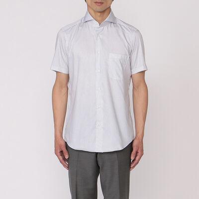 BARNEYS NEW YORK(バーニーズ ニューヨーク)ストライプ柄半袖シャツ