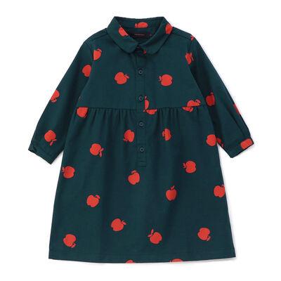 TINYCOTTONS(タイニーコットンズ)アップル柄ドレス