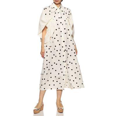 AKIRA NAKA(アキラ ナカ)ドットシャツドレス