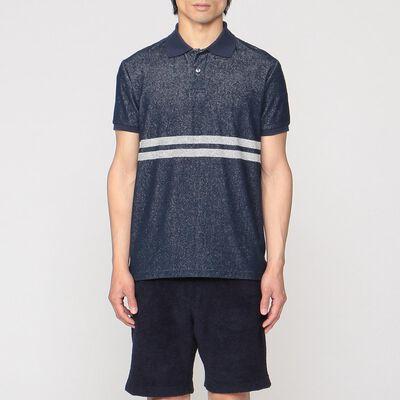 SEAGREEN(シーグリーン)限定ダブルラインパイルポロシャツ