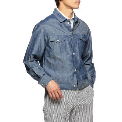 BAGUTTA(バグッダ)コットンリネンシャツジャケット