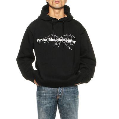 WHITE MOUNTAINEERING(ホワイトマウンテニアリング)ロゴスエットフーデッドプルオーバー