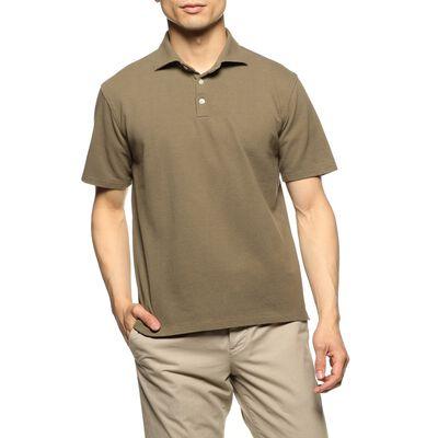 BARNEYS NEW YORK(バーニーズ ニューヨーク)鹿の子ポロシャツ