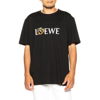 LOEWE(ロエベ)ロゴプリントTシャツ