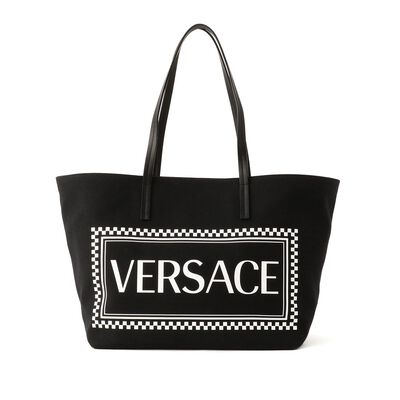 VERSACE(ヴェルサーチェ)キャンバストートバッグ(M)