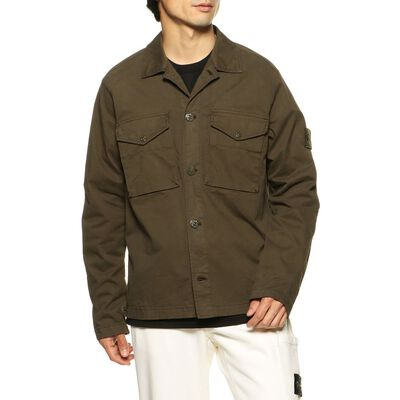 STONE ISLAND(ストーンアイランド)限定ミリタリーシャツジャケット