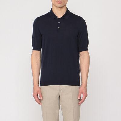 DRUMOHR(ドルモア)ニットポロシャツ