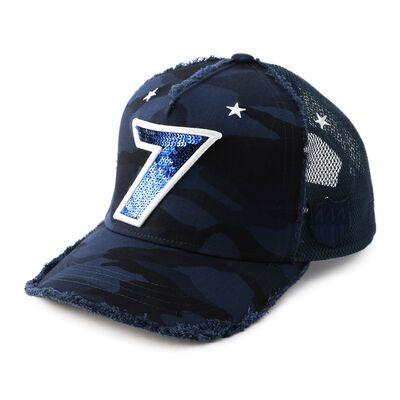 """YOSHINORI KOTAKE DESIGN(ヨシノリ コタケ デザイン)ベースボールキャップ """"7"""""""