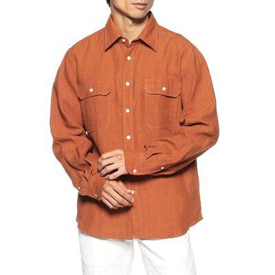 BARNEYS NEW YORK(バーニーズ ニューヨーク)リネンオーバーサイズシャツ