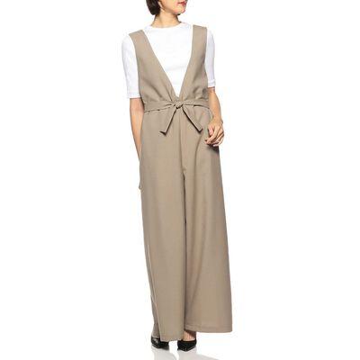 SHAINA MOTE(シャイナ モート)ウエストリボンジャンプスーツ