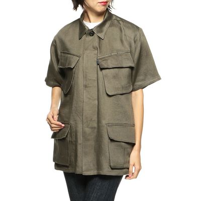 MADISONBLUE(マディソンブルー)リネンシャツジャケット