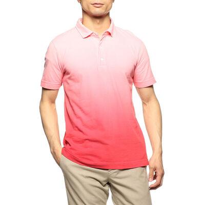 THREE DOTS(スリー ドッツ)限定グラデーションポロシャツ