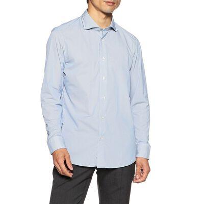 BARNEYS NEW YORK(バーニーズ ニューヨーク)ストライプ柄ジャージーシャツ