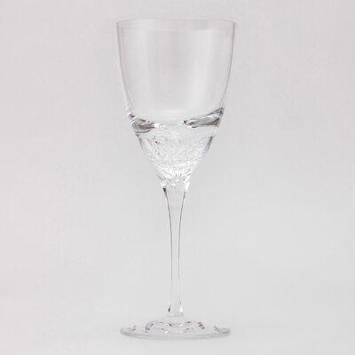 """SGHR(スガハラ)ワイングラス """"深海から沸き起こる泡"""""""