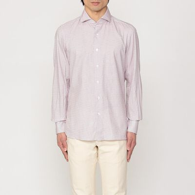 MARIO MUSCARIELLO(マリオ ムスカリエッロ)ジャカードシャツ