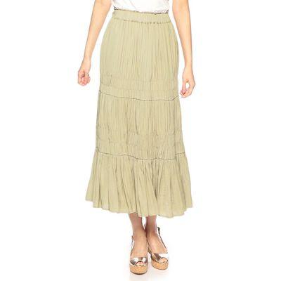 BARNEYS NEW YORK(バーニーズ ニューヨーク)ウォッシャブルワッシャーロングスカート