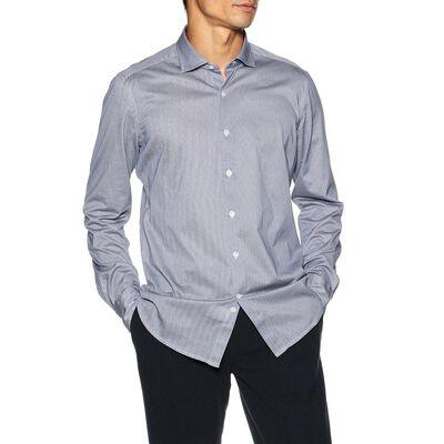 SONRISA(ソンリーサ)ピケプリントジャージーシャツ