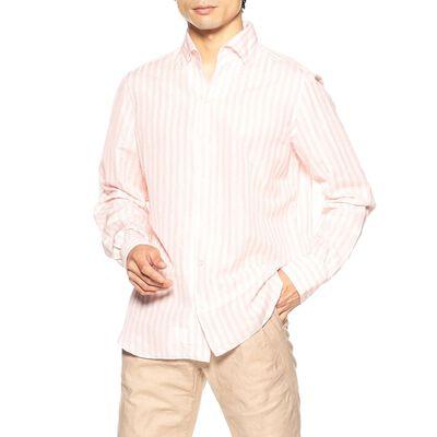 FINAMORE(フィナモレ)ストライプ柄シャツ