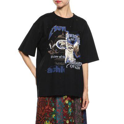 MUVEIL(ミュベール)プリントTシャツ