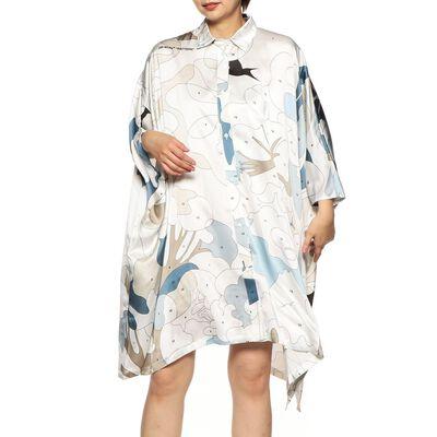 OFF-WHITE c/o VIRGIL ABLOH(オフ-ホワイト c/o ヴァージル アブロー)プリントシャツドレス