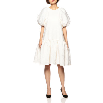 CECILIE BAHNSEN(セシリー バンセン)ボリュームスリーブミニドレス