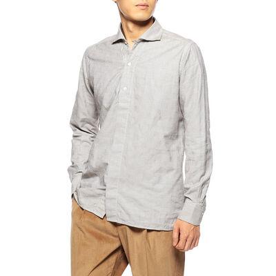 BAGUTTA(バグッダ)ジオメトリックジャカードシャツ