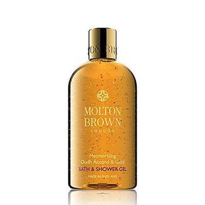 """MOLTON BROWN(モルトンブラウン)バス&シャワージェル """"ウード・アコード&ゴールド"""" 300ml"""